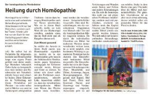 Pferdewoche - 17. Mai 2017